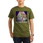 Where We Get Black-Eyed Peas Organic Men's T-Shirt