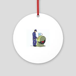 Mechanic Ornament (Round)