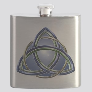 Trinity Knot square Flask