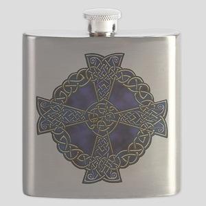 Celtic Cross square Flask