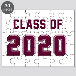 Class of 2020 Maroon Puzzle