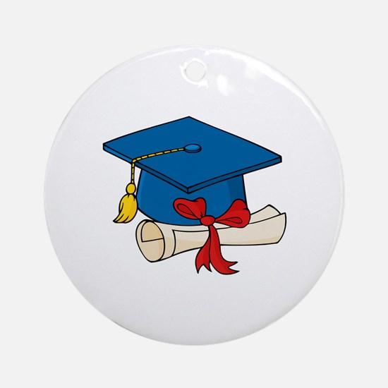 Graduation Ornament (Round)