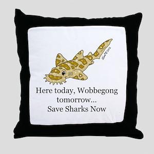 Wobbegong Throw Pillow