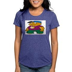 Booo! Womens Tri-blend T-Shirt
