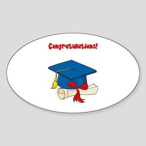 Graduation Sticker (Oval)