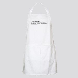 Liberal By Definition BBQ Apron