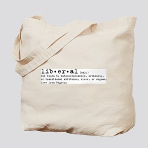 Liberal By Definition Tote Bag