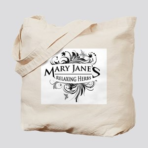 Mary Janes Relaxing Herbs Tote Bag