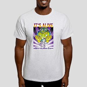 Labby the Lab Tech Ash Grey T-Shirt