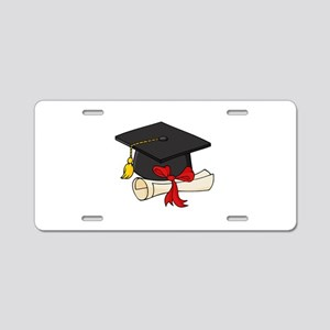 Graduation Aluminum License Plate