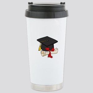 Graduation Stainless Steel Travel Mug
