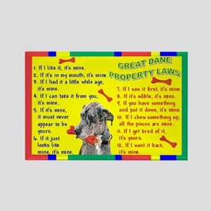 Property Laws -GreatDane,BlMl Magnets