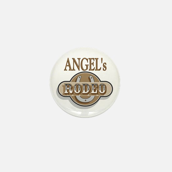 Angel's Rodeo Personalized Mini Button