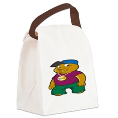 Booo Image 1500x1024 Canvas Lunch Bag