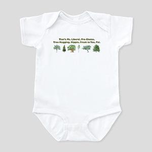 b7fb051ea Liberal Baby Clothes   Accessories - CafePress