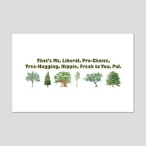 That's Ms. Liberal Mini Poster Print