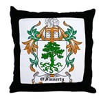 O'Finnerty Coat of Arms Throw Pillow