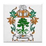 O'Finnerty Coat of Arms Tile Coaster