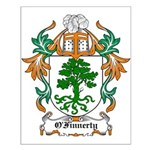O'Finnerty Coat of Arms Small Poster