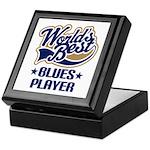 Worlds Best Blue Player Keepsake Box