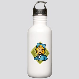 Graduation Stainless Water Bottle 1.0L