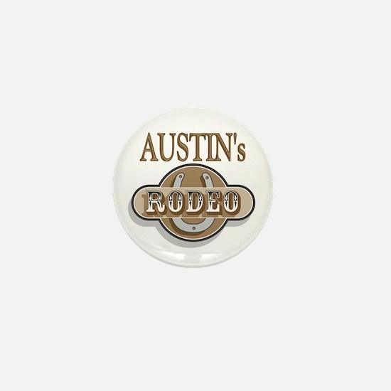 Austin's Rodeo Personalized Mini Button