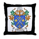 O'Fennelly Coat of Arms Throw Pillow