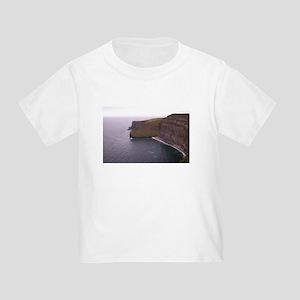Cliffs in Ireland Toddler T-Shirt