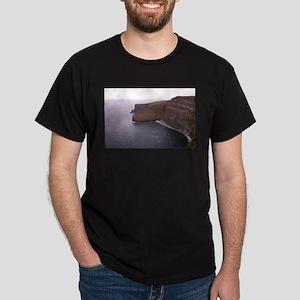 Cliffs in Ireland Dark T-Shirt