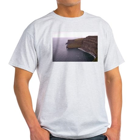 Cliffs in Ireland Light T-Shirt