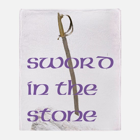 SWORD IN THE STONE™ Throw Blanket