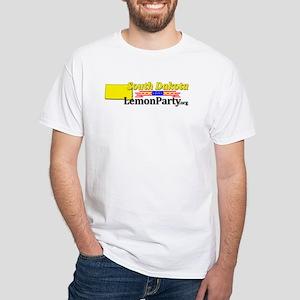 South Dakota White T-Shirt