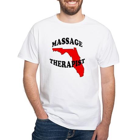 FL Massage White T-Shirt