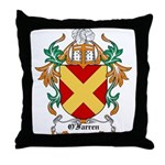 O'Farren Coat of Arms Throw Pillow