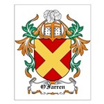 O'Farren Coat of Arms Small Poster