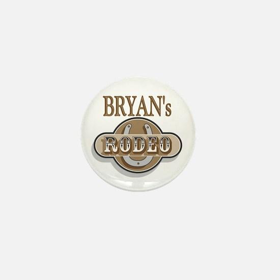 Bryan's Rodeo Personalized Mini Button