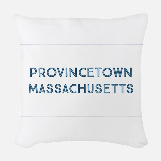 Provincetown Woven Throw Pillow
