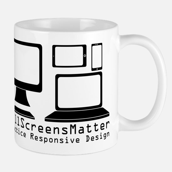 #AllScreensMatter Mugs