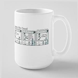 I saw you! Large Mug