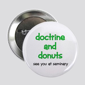 LDS Seminary Donuts Button