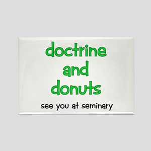 LDS Seminary Donuts Rectangle Magnet