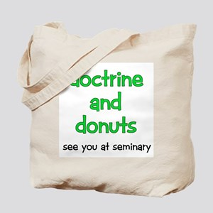 LDS Seminary Donuts Tote Bag