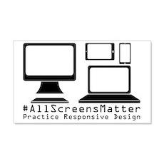 #allscreensmatter Wall Decal
