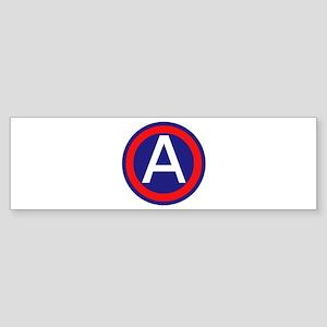 Third United States Army Sticker (Bumper)