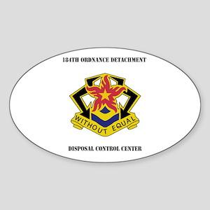 184th Ordnance Detachment Disposal Control Center