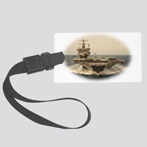USS Enterprise Large Luggage Tag