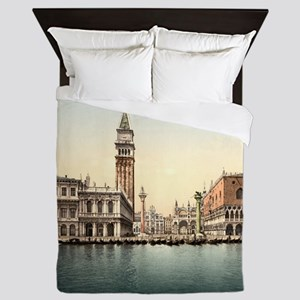 Vintage Venice Queen Duvet