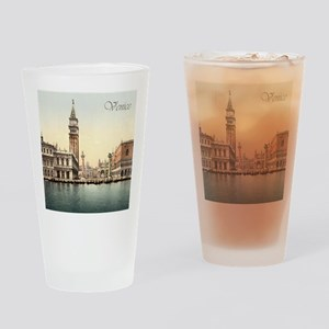 Vintage Venice Drinking Glass