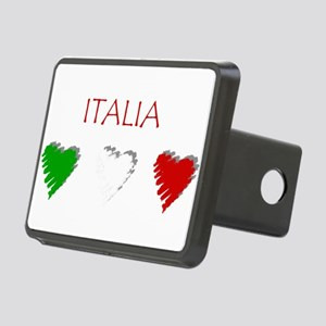 Italia Hearts Rectangular Hitch Cover