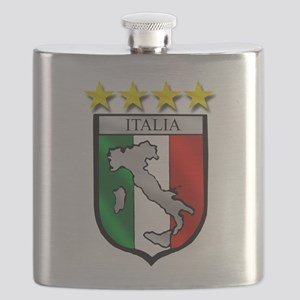 Italia Shield Flask